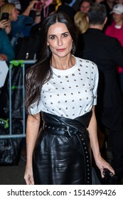 NEW YORK, NEW YORK/UNITED STATES - APRIL 1 2017: Demi Moore is seen on  April 1, 2017 in New York City.