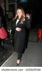 NEW YORK, NEW YORK/UNITED STATES - MARCH 3, 2010: Jessica Simpson is seen heading to dinner at Dos Caminos Restaurant on March 3, 2010 in New York City.