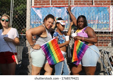 New York, New York/United States-06-26-2016:Gay Pride Parade