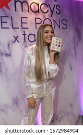 New York, New York/U.S. - 11/23/2019: Lele Pons celebrating the launch of her Lele Pons x tarte collection at Macy's Herald Square