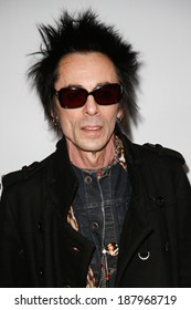 NEW YORK-APR 17: Musician Earl Slick attends the 'Super Duper Alice Cooper' premiere during the 2014 TriBeCa Film Festival at Chelsea Bow Tie Cinemas on April 17, 2014 in New York City.