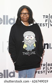 NEW YORK-APR 22: Whoopi Goldberg attends the 'Dear Basketball' screening at SVA Theatre during the 2017 TriBeCa Film Festival on April 22, 2017 in New York City.