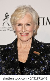 NEW YORK-APR 23: Glenn Close attends the 2019 Time 100 Gala at Frederick P. Rose Hall, Jazz at Lincoln Center on April 23, 2019 in New York City.