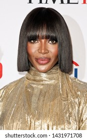 NEW YORK-APR 23: Naomi Campbell attends the 2019 Time 100 Gala at Frederick P. Rose Hall, Jazz at Lincoln Center on April 23, 2019 in New York City.