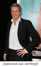 """NEW YORK-AUG 10: Actor Hugh Grant attends """"The Man From U.N.C.L.E."""" New York premiere at the Ziegfeld Theatre on August 10, 2015 in New York City."""
