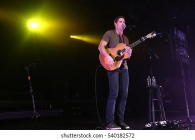 NEW YORK-DEC 16: Singer Walker Hayes performs in concert at PlayStation Theater on December 16, 2016 in New York City.