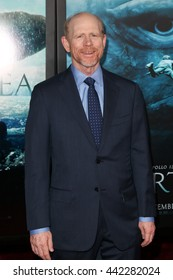 """NEW YORK-DEC 7: Director Ron Howard attends the New York premiere of """"In the Heart of the Sea"""" at Jazz at Lincoln Center's Frederick P. Rose Hall on December 7, 2015 in New York City."""