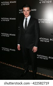 NEW YORK-JAN 5: Actor Finn Wittrock attends the 2015 National Board of Review Gala at Cipriani 42nd Street on January 5, 2016 in New York City.