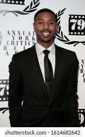 NEW YORK-JAN 6: Actor Michael B. Jordan attends the New York Film Critics Circle Awards at the Edison Ballroom on January 6, 2014 in New York City.