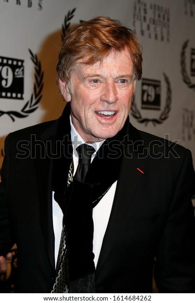 New Yorkjan 6 Actor Robert Redford Stock Photo Edit Now 1614684262