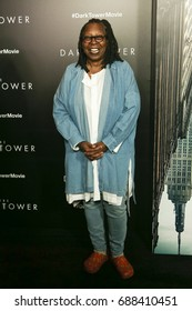 "NEW YORK-JUL 31: Whoopi Goldberg attends ""The Dark Tower"" special screening at the Museum of Modern Art on July 31, 2017 in New York City."