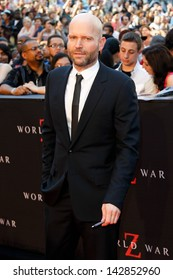 """NEW YORK-JUNE 17: Director Marc Forster attends the premiere of """"World War Z"""" at Times Square on June 17, 2013 in New York City."""