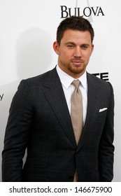 """NEW YORK-JUNE 25: Actor Channing Tatum attends the premiere of """"White House Down"""" at the Ziegfeld Theater on June 25, 2013 in New York City."""