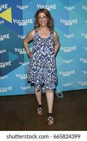 NEW YORK-MAY 21: Jennie Snyder Urman attends the 'Jane the Virgin' tv panel during the 2017 Vulture Festival at Milk Studios on May 21, 2017 in New York City.