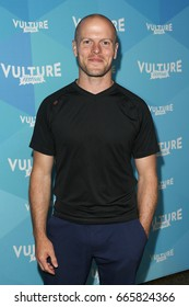 NEW YORK-MAY 21: Tim Ferris attends 'Tim Ferris and Vince Vaughn: In  Conversation' during the 2017 Vulture Festival at Milk Studios on May 21, 2017 in New York City.
