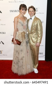 NEW YORK-MAY 22: Julie Granger (L) and Daniil Simkin attends the American Ballet Theatre 2017 Spring Gala at David H. Koch Theater at Lincoln Center on May 22, 2017 in New York City.
