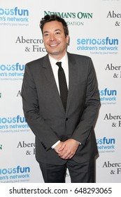 NEW YORK-MAY 23: TV Personality Jimmy Fallon attends the 2017 SeriousFun Children's Network Gala at Chelsea Piers, Pier 60 on May 23, 2017 in New York City.