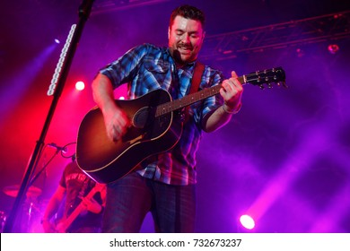 NEW  YORK-NOV 14: Country music singer Chris Young performs in concert at the Best Buy Theater on November 14, 2014 in New York City.