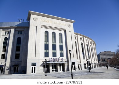 New York,NY, USA -  January 27, 2013: Yankee Stadium: It is the home ballpark for the New York Yankees.
