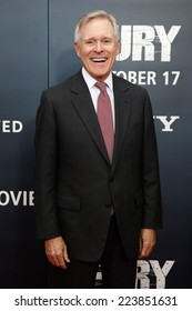 """NEW YORK-OCT 15: Secretary of the Navy Ray Mabus attends the world premiere of """"The Fury"""" at the Newseum on October 15, 2014 in Washington DC."""