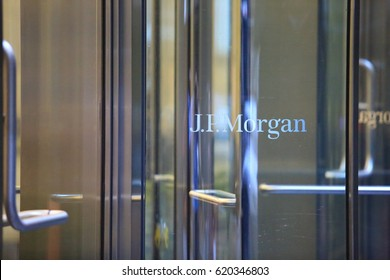 NEW YORK:OCT 5: JP morgan headquarters at 270 Park Avenue in new york on 5 october 2016. JPMorgan is a U.S. multinational banking and financial services holding company headquartered in New York City