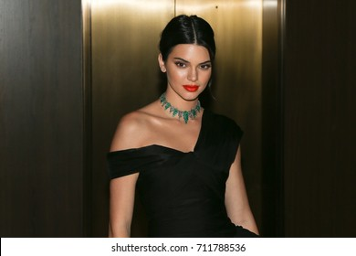 NEW YORK-SEP 08: Model Kendall Jenner attends the Daily Front Row's Fashion Media Awards at the Four Seasons Hotel Downtown New York on September 8, 2017 in New York City.