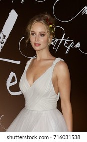 """NEW YORK-SEP 13: Actress Jennifer Lawrence attends the """"mother!"""" premiere at Radio City Music Hall on September 13, 2017 in New York City."""