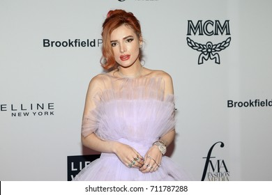 NEW YORK-SEPT 08: Actress Bella Thorne attends Daily Front Row's Fashion Media Awards at Four Seasons Hotel New York Downtown on September 8, 2017 in New York City.