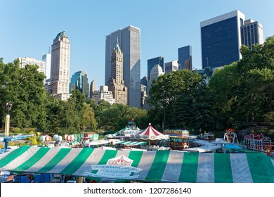 New York/United States-2012.7.15: Victoria Amusement park at Central Park