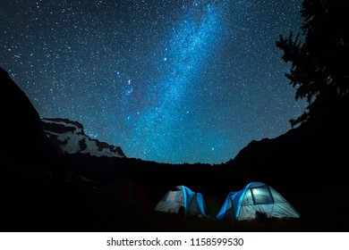 New Zealand campsites are places to relax, enjoy and explore the outdoors. Camping under the mountains, milky way and stars is unforgettable experience. This is a popular activity during summer time.