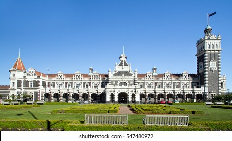New Zealand, Dunedin, Train Station
