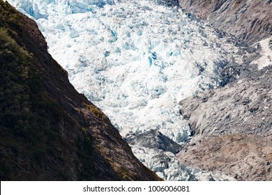 New Zealand Franz Josef Glacier 2017 blue ice landscape
