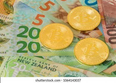 New Zealand. Money and Bitcoin