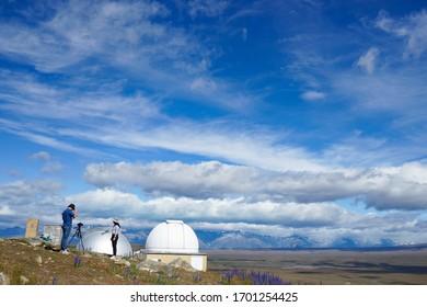 New Zealand -Mount John observatory