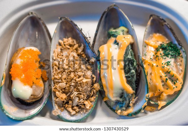 New Zealand mussels very delicious