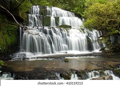 New Zealand, Purakaunui Falls