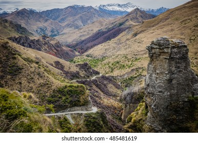New Zealand, Skippers Canyon Panorama,