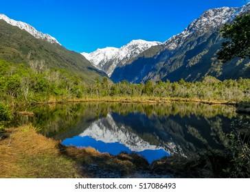 New Zealand South Island Mountains, Franz Joseph Glacier