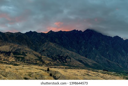 New Zealand. South Island. Remarkable Ridge. In the television series The Lord of the Rings, he starred as the border for Morder. Morning View from Queenstown