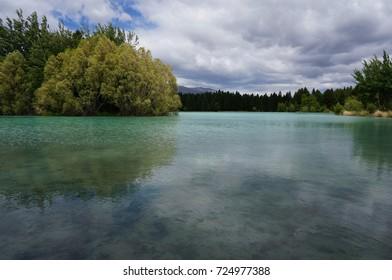 new zealand twizel lake ruataniwha