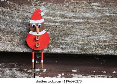 New Zealand wooden Kiwi Christmas decoration