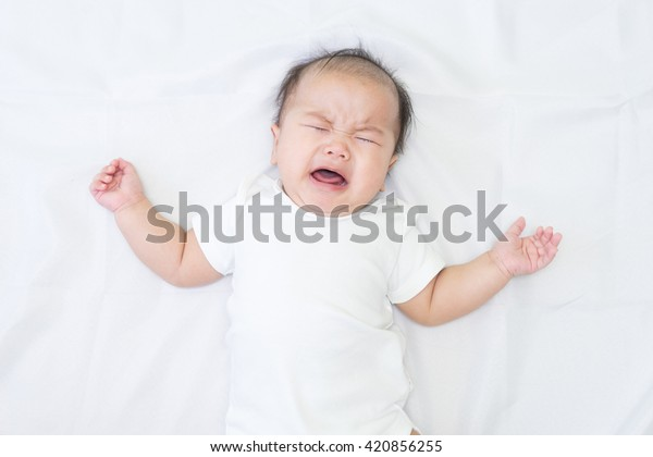 Crying Chinese Infant Stock Photos - FreeImages.com