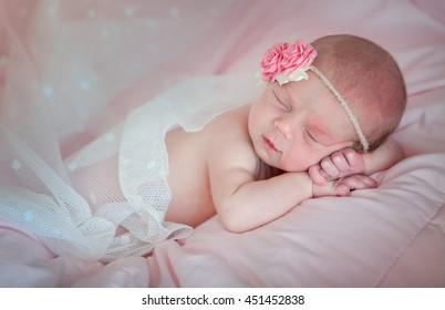 Newborn beautiful baby