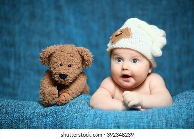 newborn cute boy