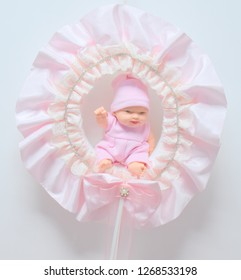Newborn Decorated Baby Door Ornament