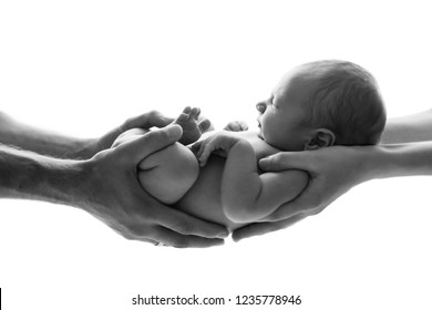 Newborn photo shooting of innocent sweety boy