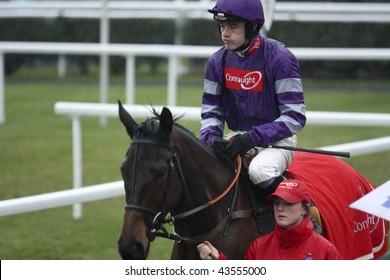 NEWBURY BERKS DEC 29 Jockey Ruby Walsh Goes Out To Ride Big Fella