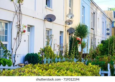 Newbury town houses, UK