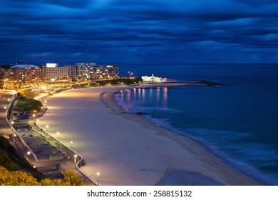 Newcastle Beach twilight
