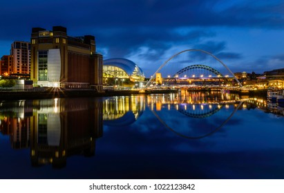 Newcastle Gateshead, Queyside,river Tyne, Baltic, Sage Gateshead, Millenium Eye
